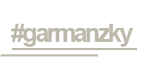 #garmanzky Logo